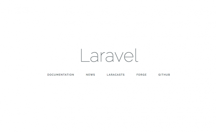 Laravel 5.3 View Neu