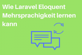 Laravel Eloquent Mehrsprachigkeit